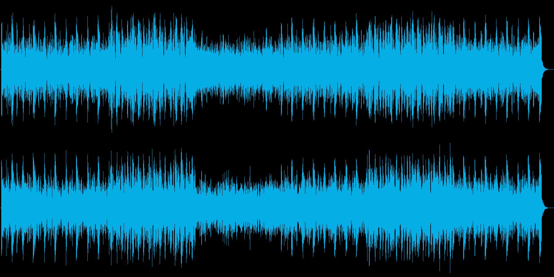スッキリ、力強さのある前向きなメロディーの再生済みの波形