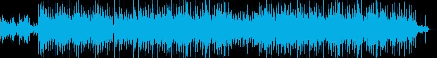ハッピー・感動・アップテンポ・ピアノの再生済みの波形