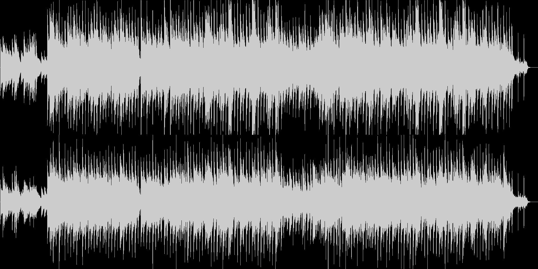 ハッピー・感動・アップテンポ・ピアノの未再生の波形