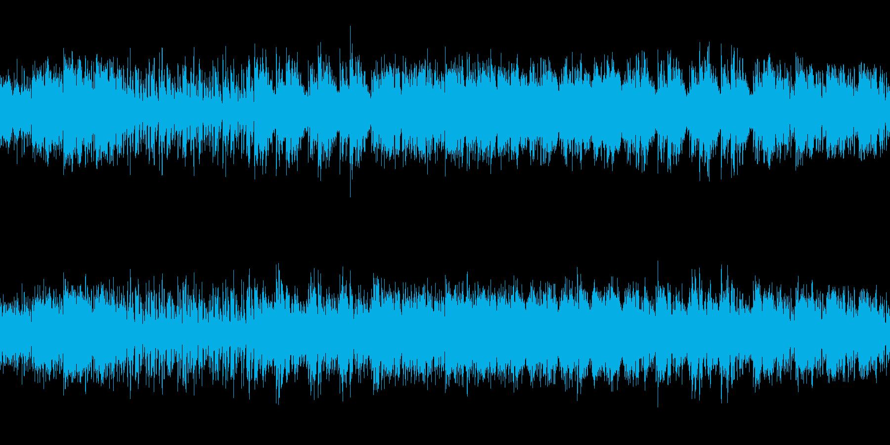 確信に迫る雰囲気のダークなシンセループの再生済みの波形