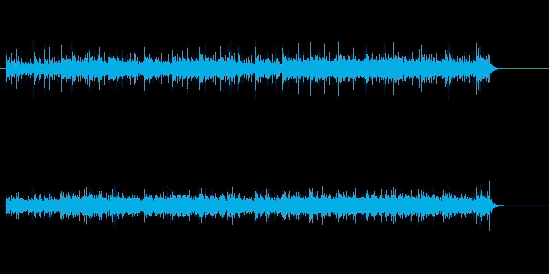 民族音楽風(イスラマバードへの道)の再生済みの波形