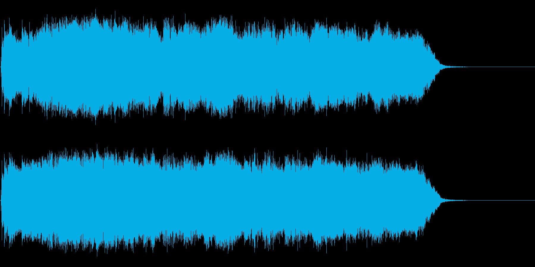 木管楽器の音色を使った不思議な雰囲気の曲の再生済みの波形