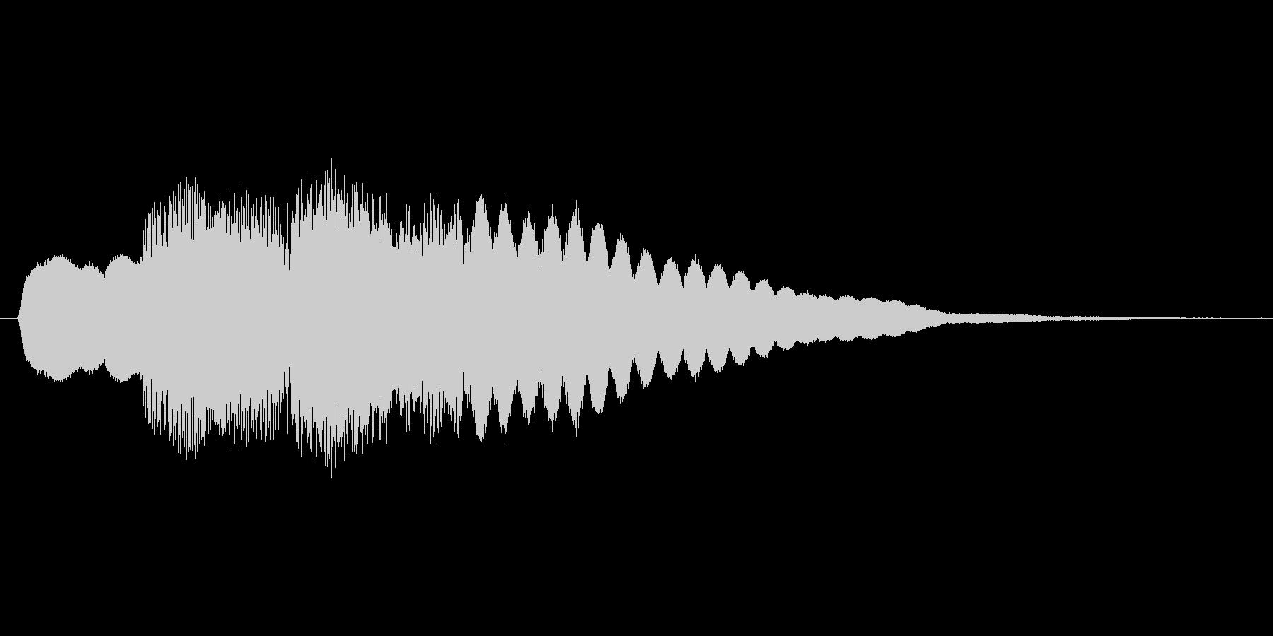 ファミコン風 台詞.ポップアップ系 03の未再生の波形