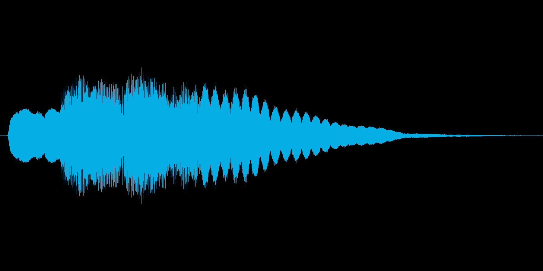 ファミコン風 台詞.ポップアップ系 03の再生済みの波形