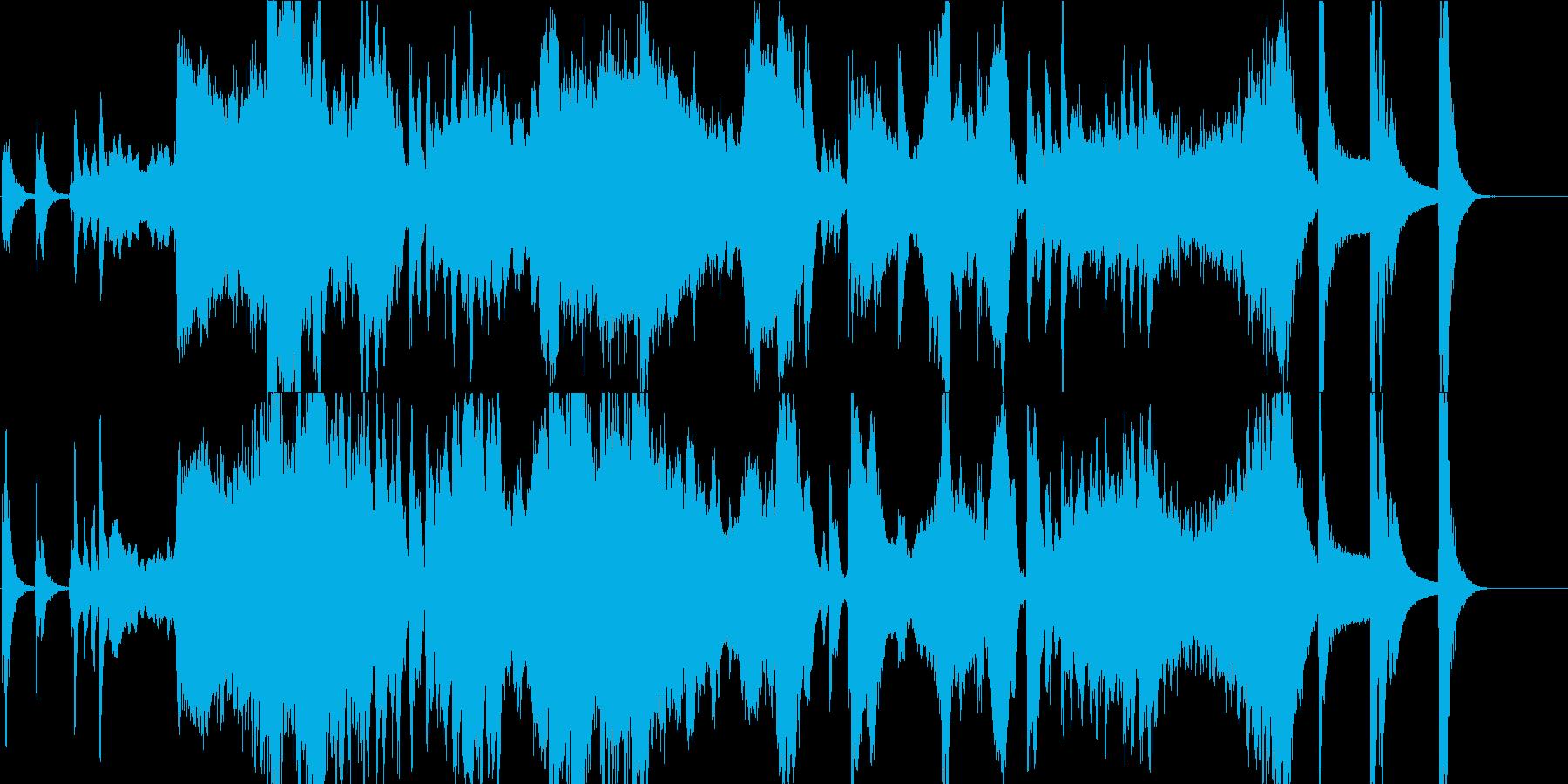 不思議の国への序章の再生済みの波形