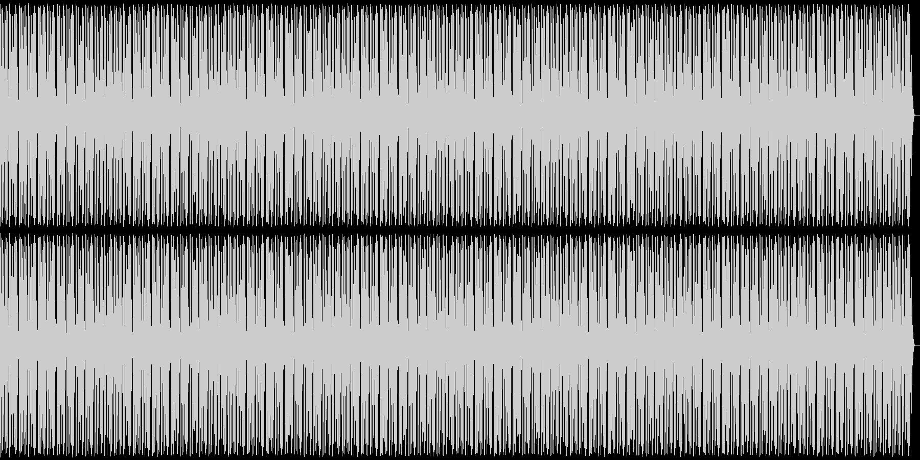 フリースタイル用ビート(シンプル)の未再生の波形