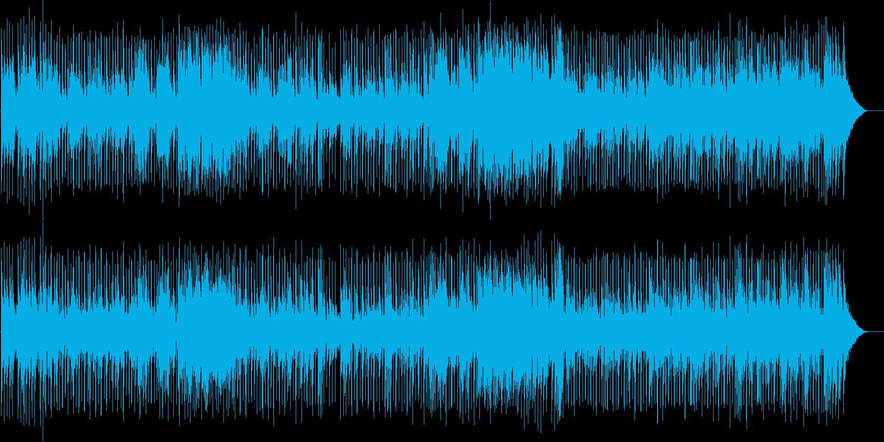 楽しげなざわめきが似合う、マルチなBGMの再生済みの波形