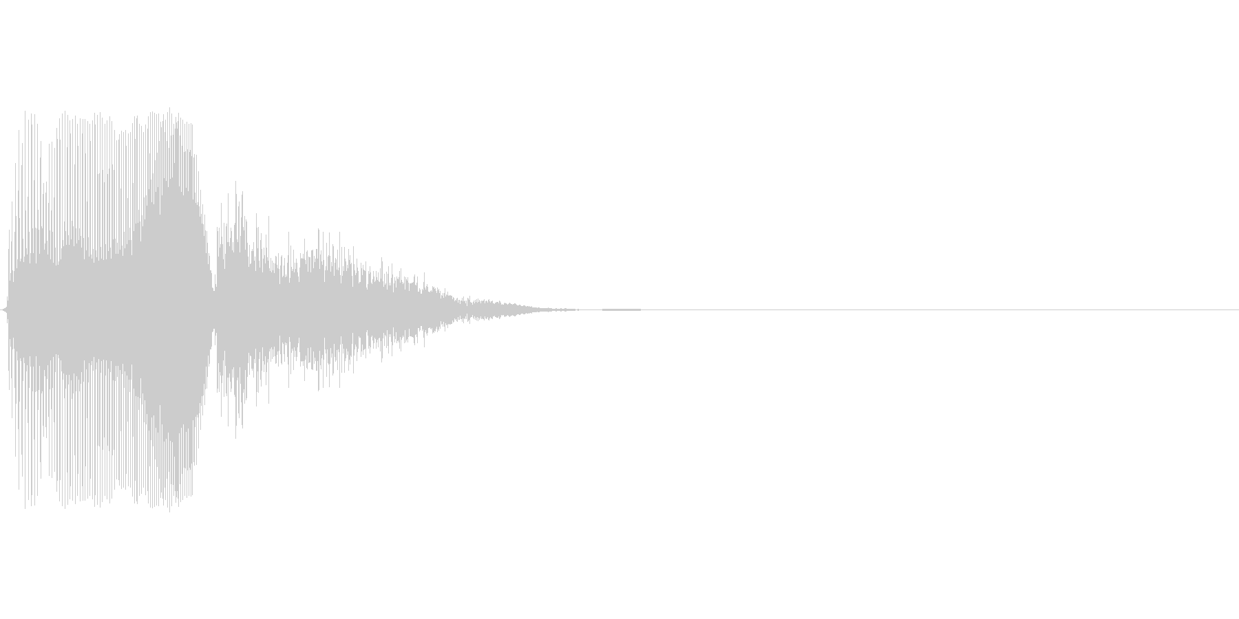 Sの未再生の波形