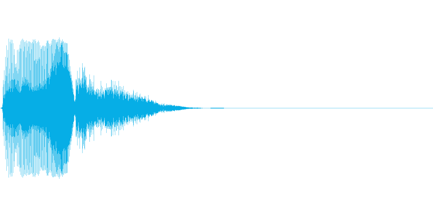 Sの再生済みの波形