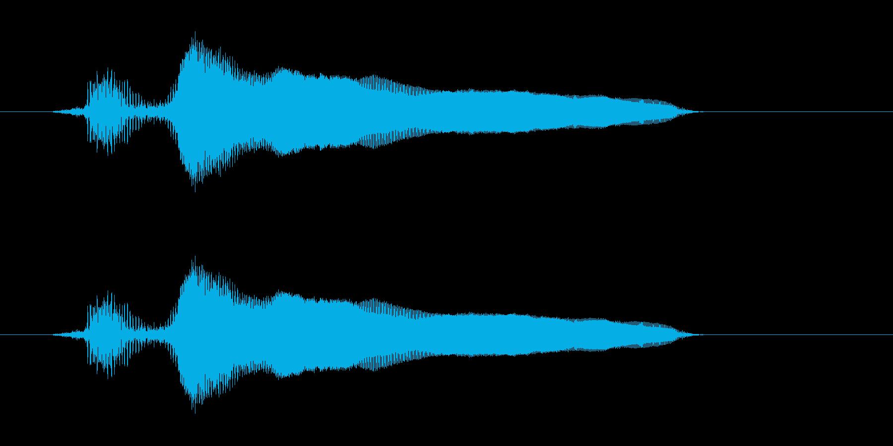 ヒヒーーーーーーン!(ヒヒーン・馬)の再生済みの波形