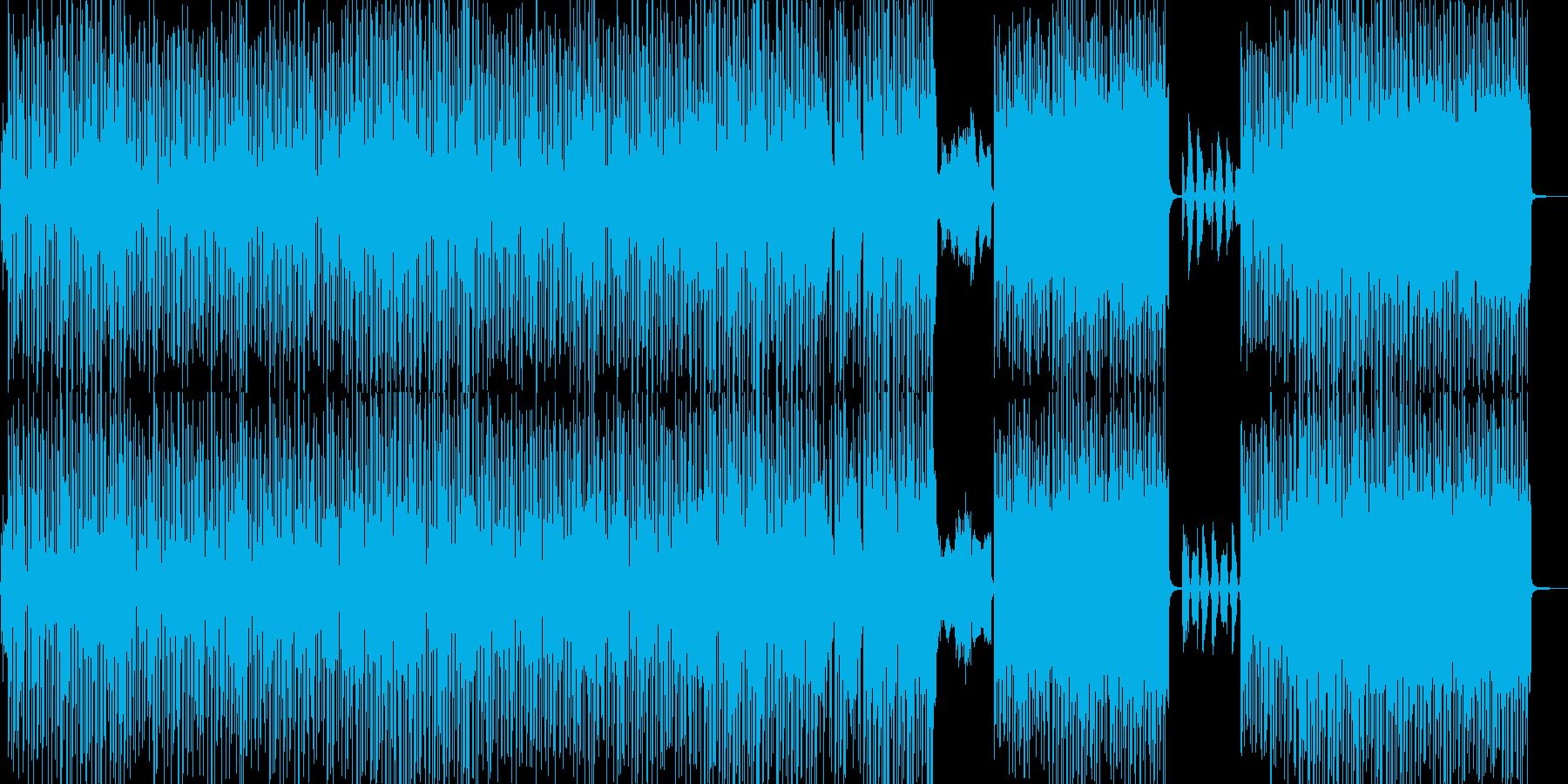 冷めてきた二人イメージのR&Bの再生済みの波形