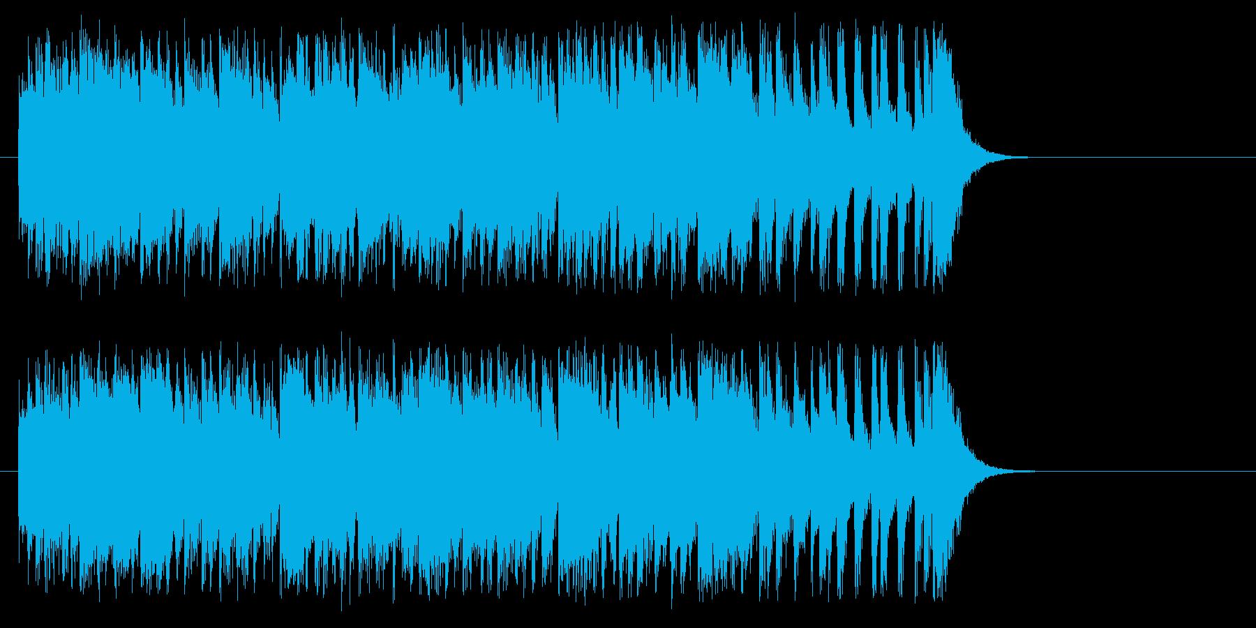 常夏風カリビアン・ポップスの再生済みの波形