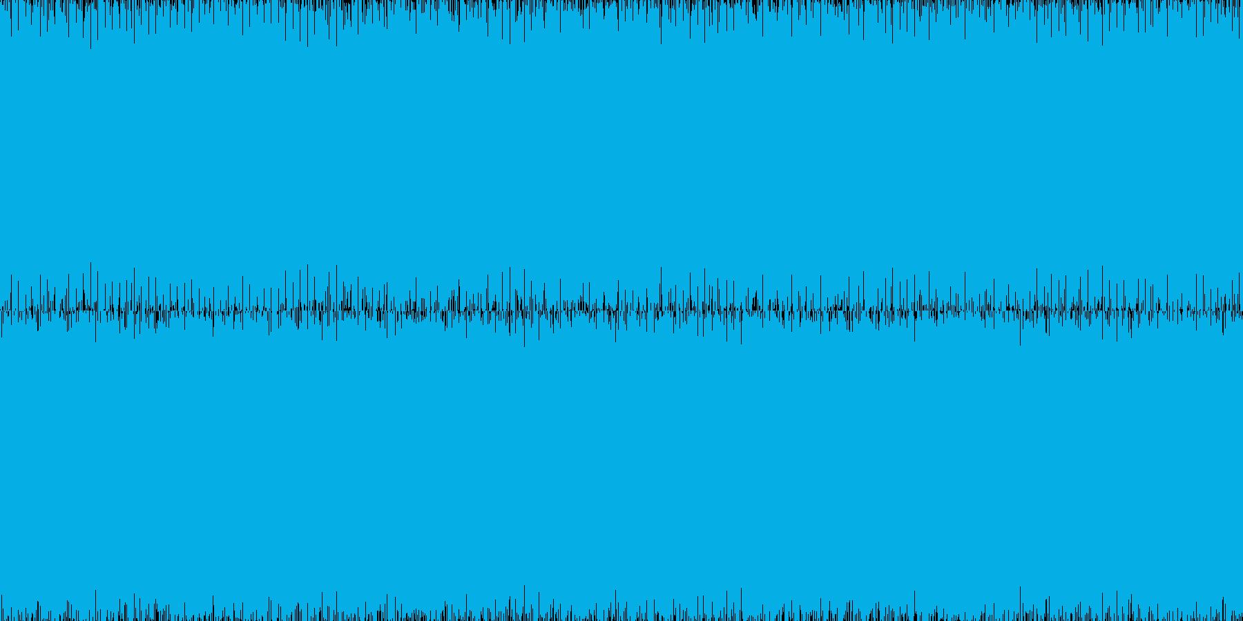 暗く近未来的なループピアノアンビエントの再生済みの波形