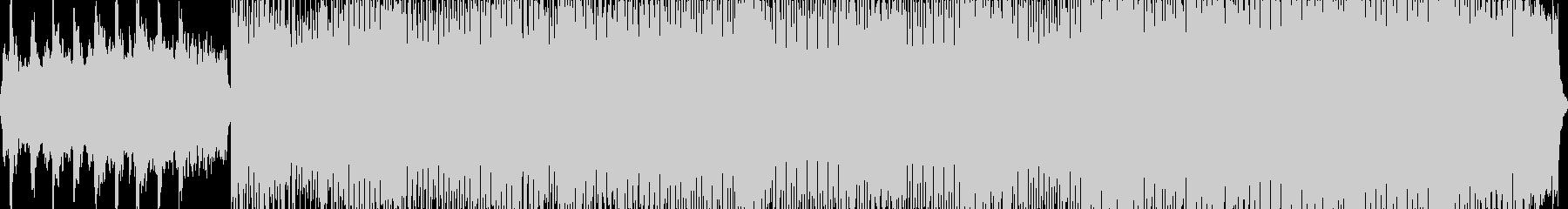 カノン/テクノアレンジの未再生の波形
