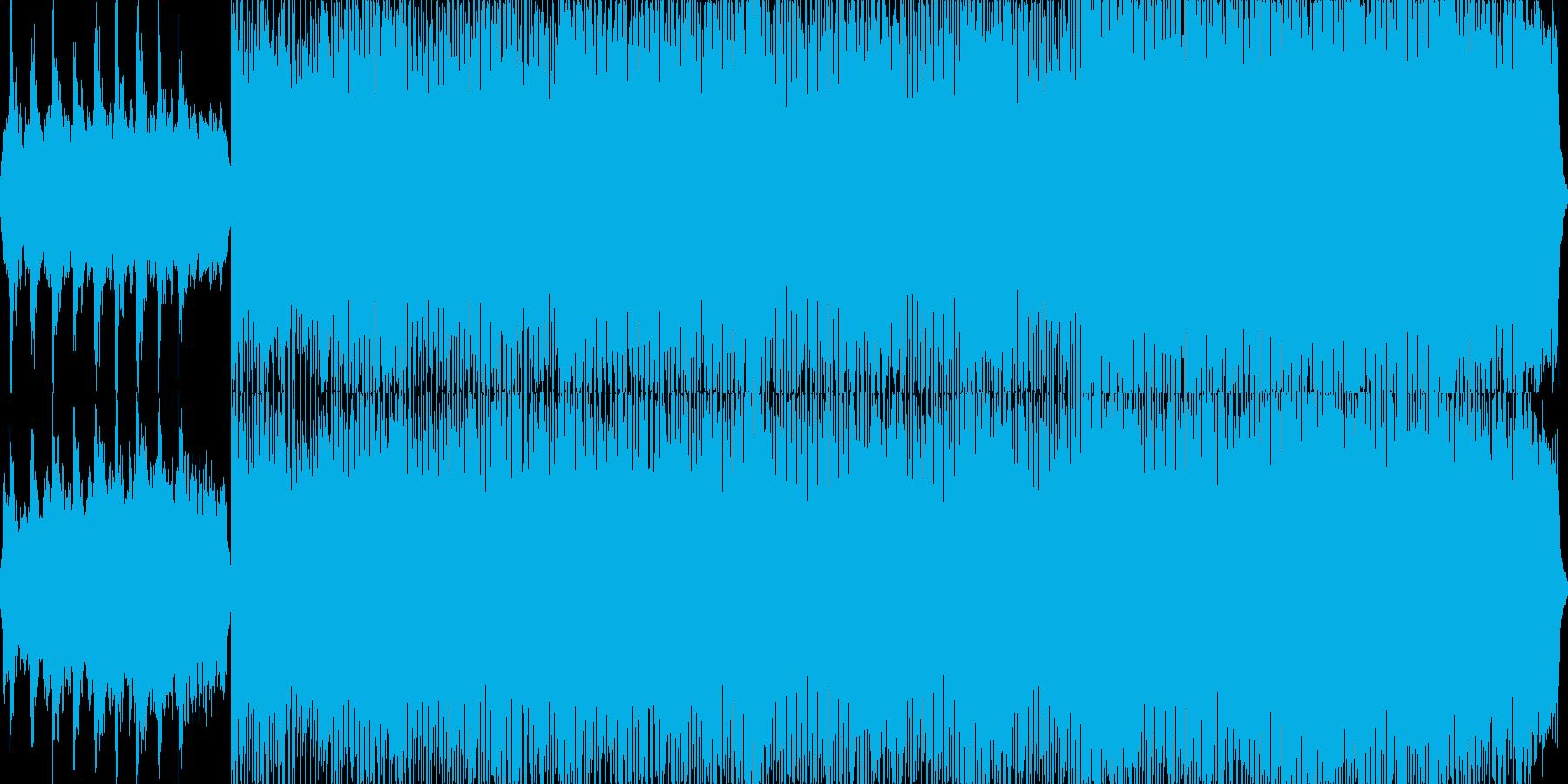 カノン/テクノアレンジの再生済みの波形