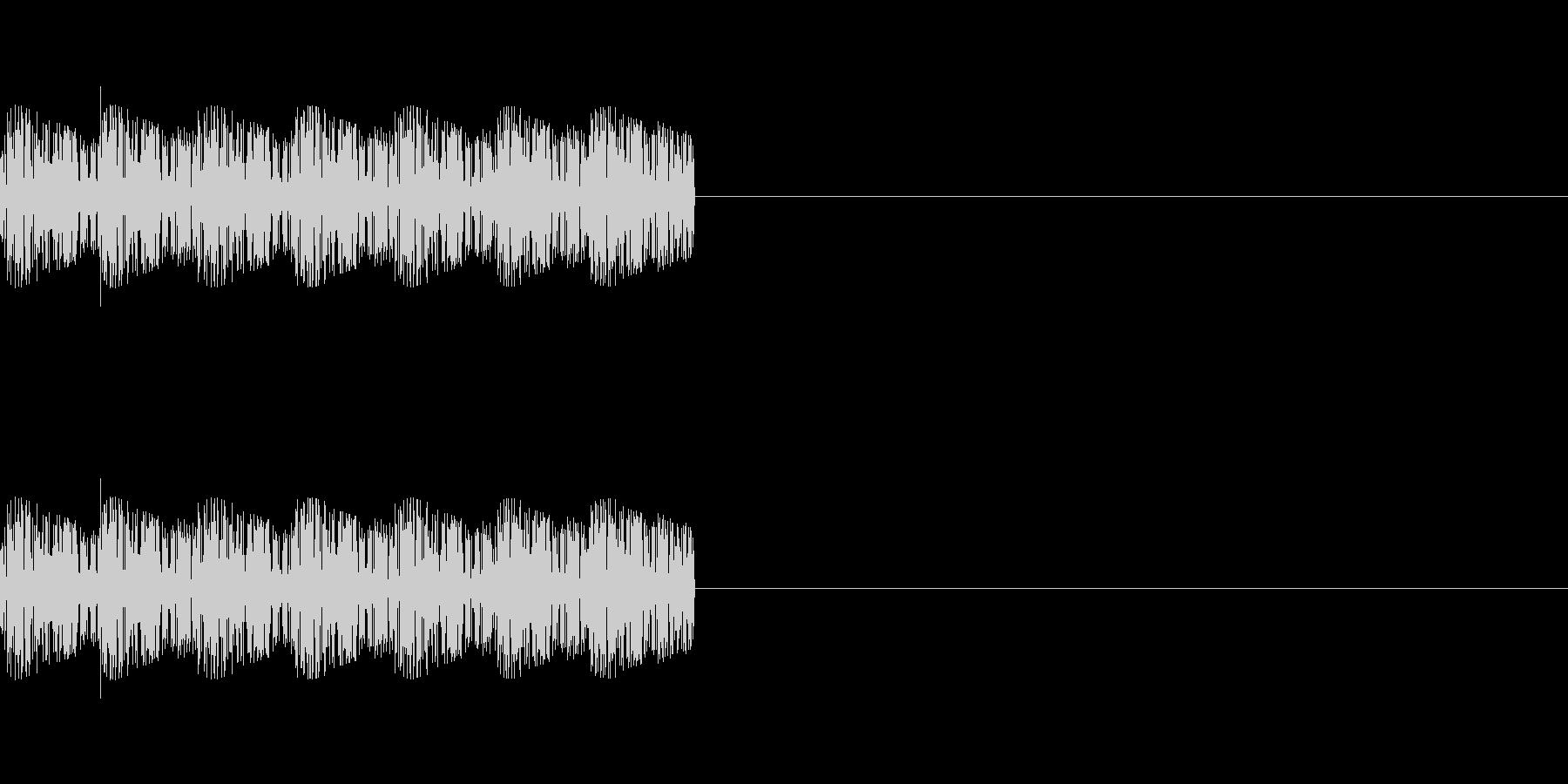 「ピロリロリロ」レトロゲーム風魔法の未再生の波形