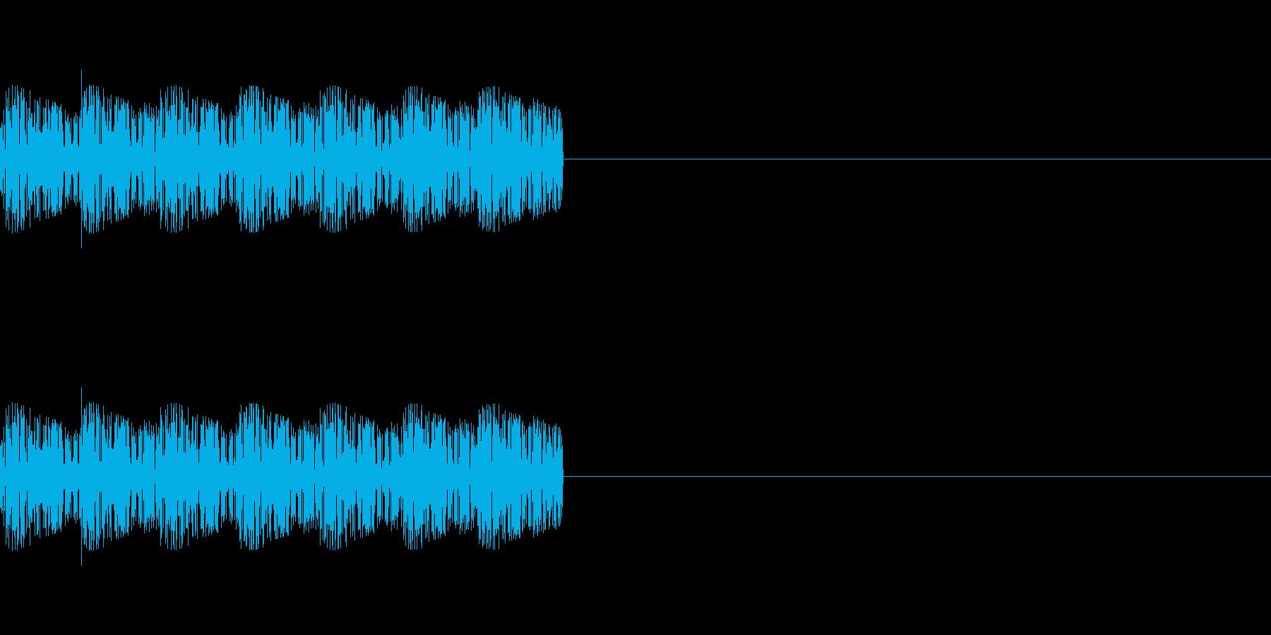 「ピロリロリロ」レトロゲーム風魔法の再生済みの波形