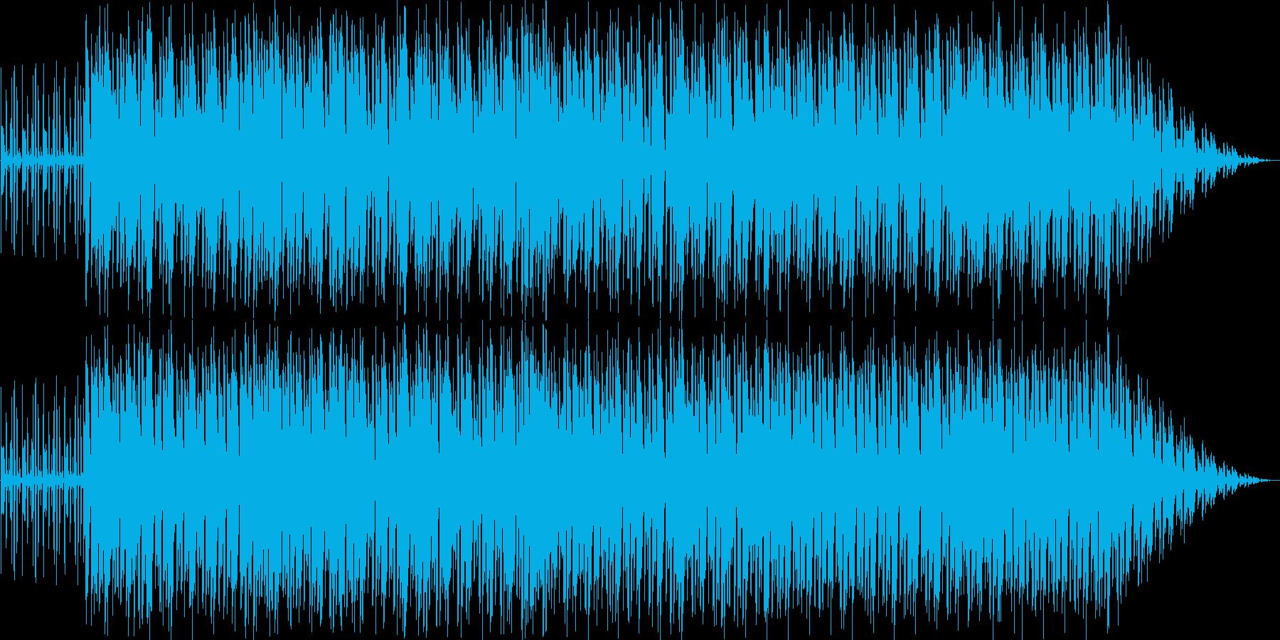 ゆったり軽快で優しいアコギ中心のインストの再生済みの波形
