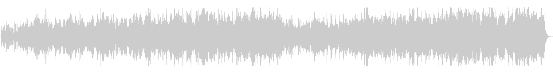 王道ファンタジーRPGのフィールドBGMの未再生の波形