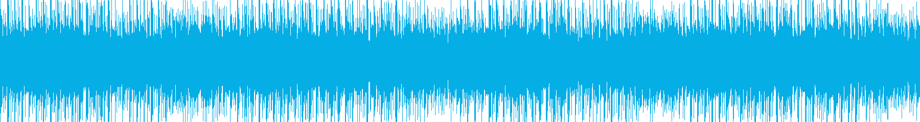 EDM風なお祭りの音楽 1分ぴったり の再生済みの波形