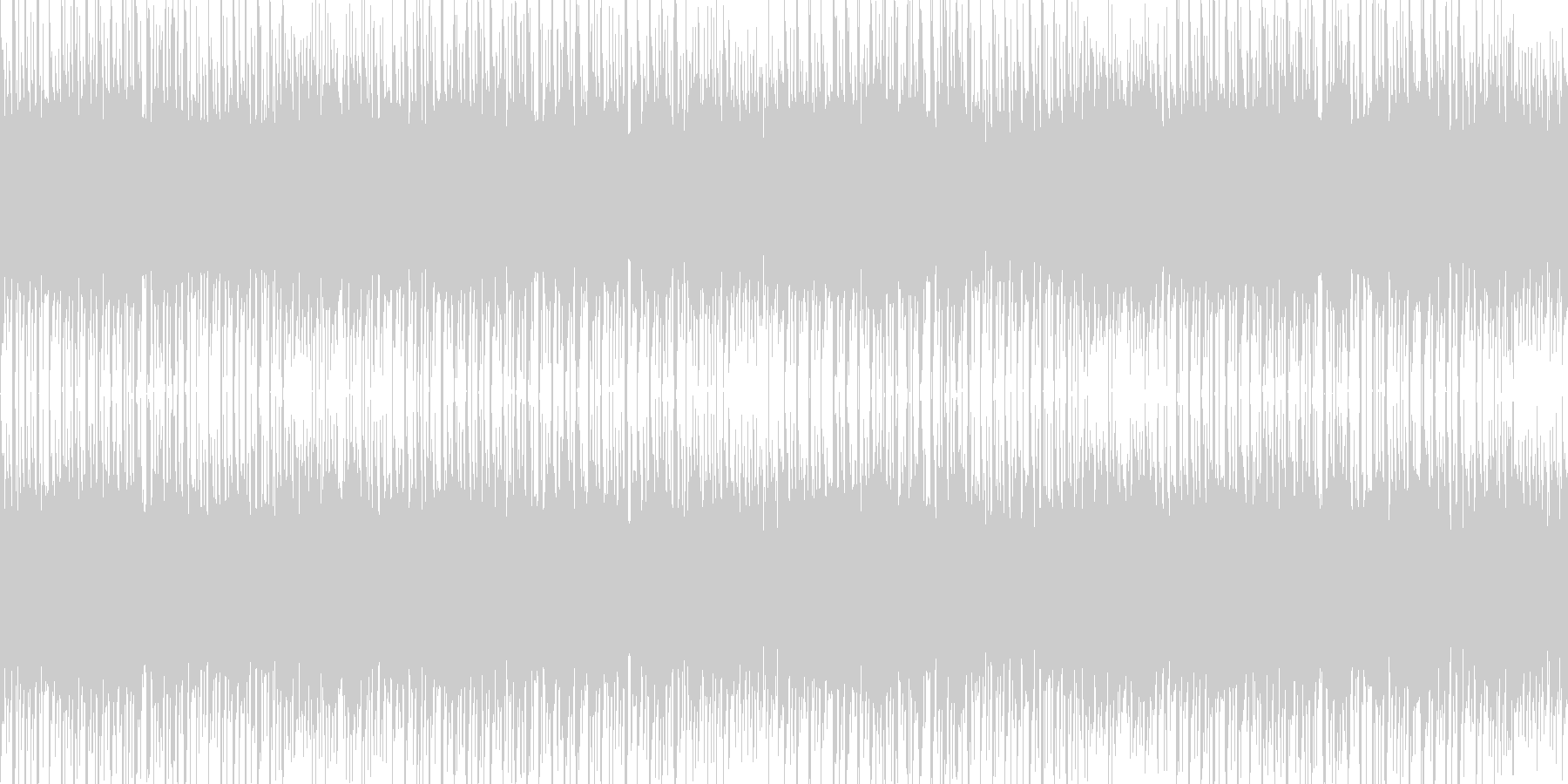 EDM風なお祭りの音楽 1分ぴったり の未再生の波形