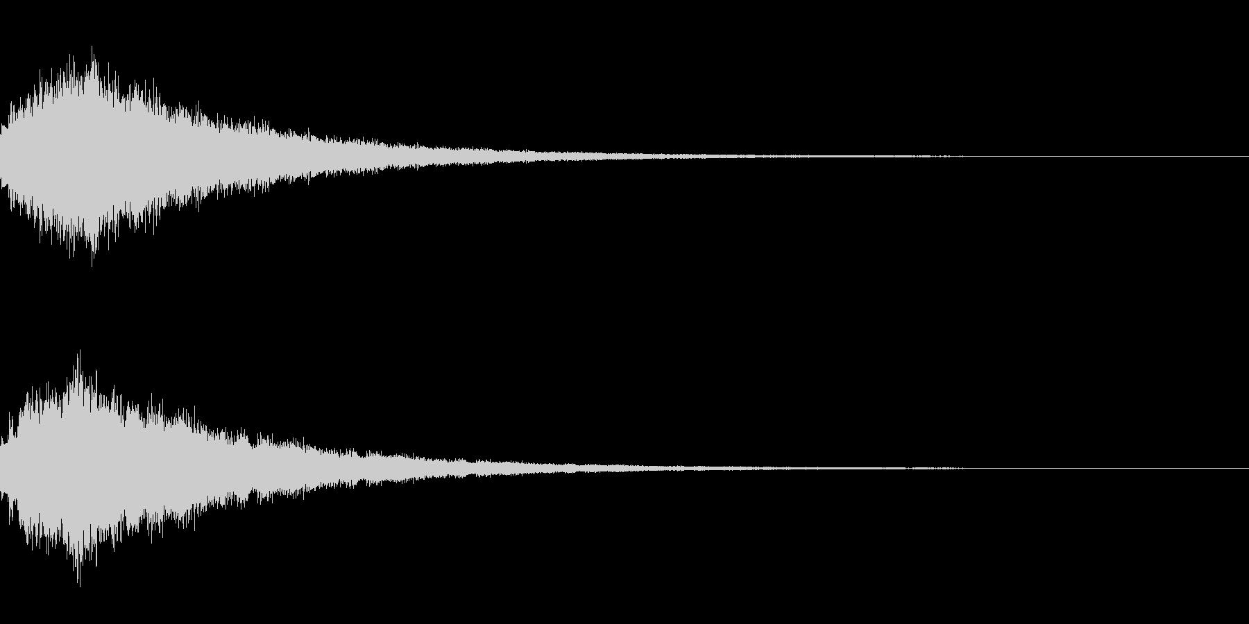 キラキラ シャララーン アイキャッチ03の未再生の波形