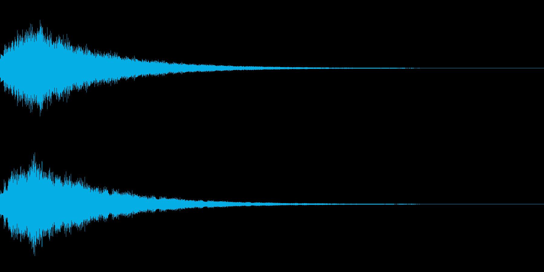 キラキラ シャララーン アイキャッチ03の再生済みの波形