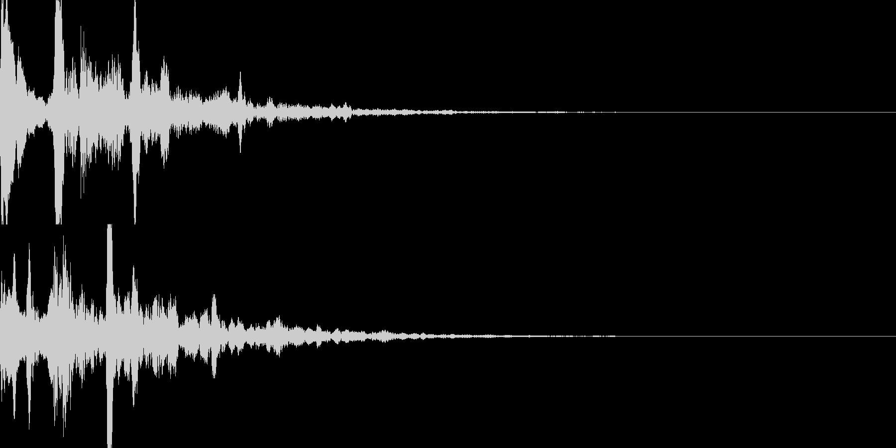 サウンドロゴ29_シンセCGの未再生の波形