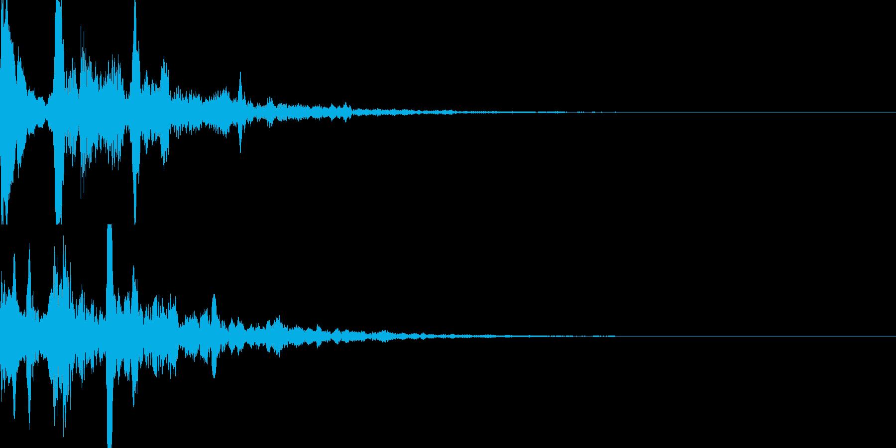 サウンドロゴ29_シンセCGの再生済みの波形