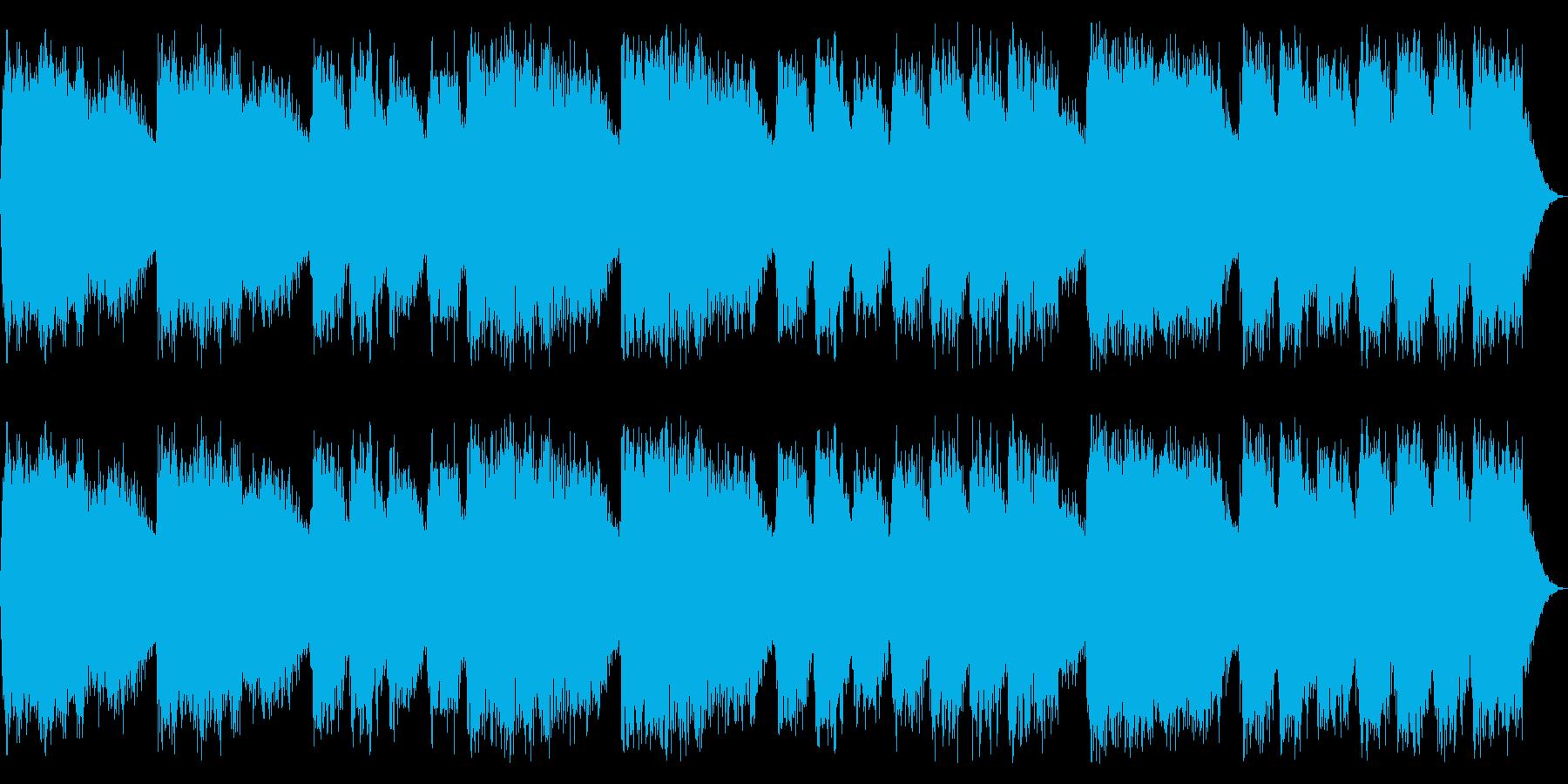 ミステリアスでダークな楽曲 恐怖感の演出の再生済みの波形