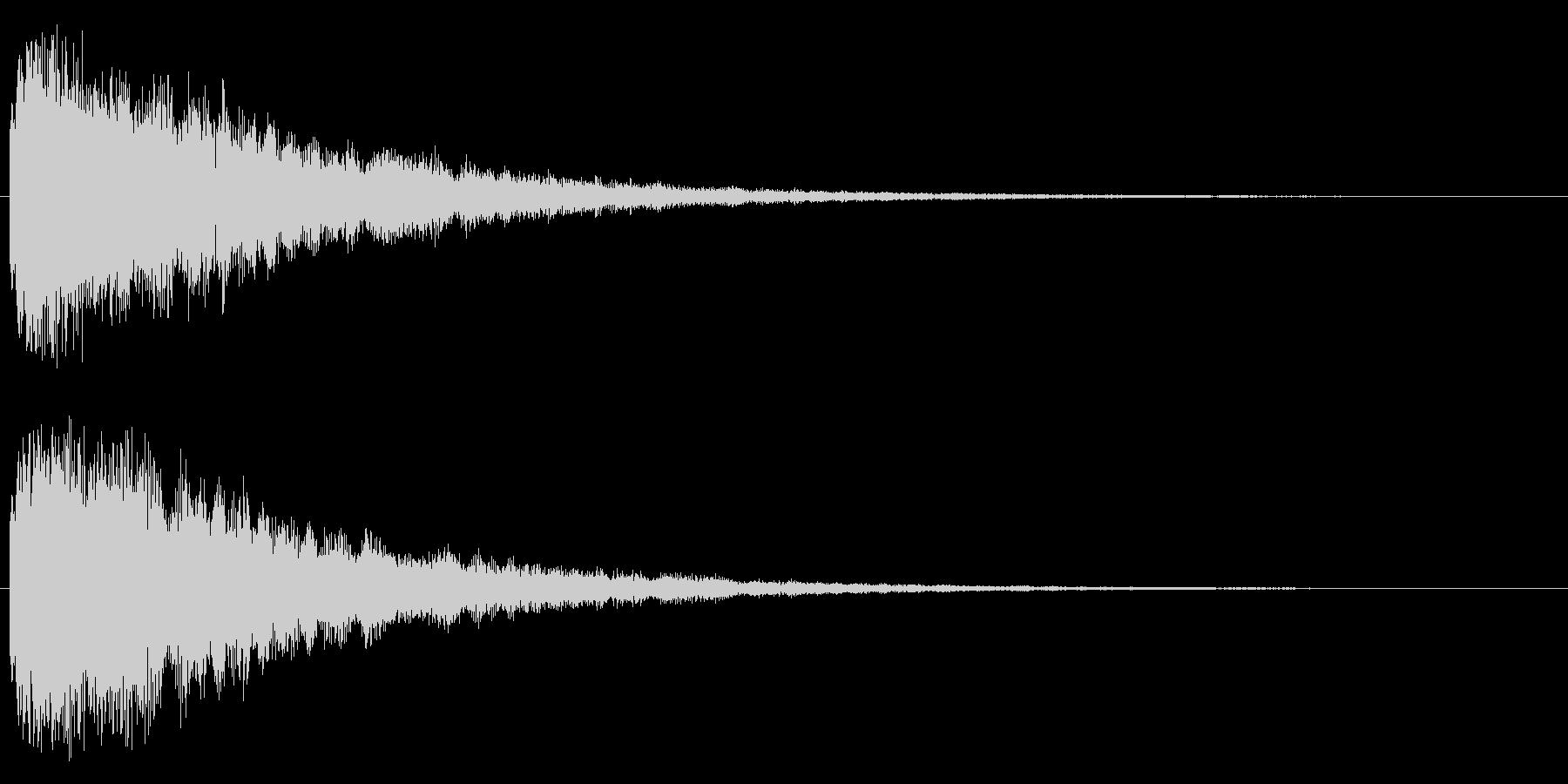 キラリーン(レベルアップやスキルアップ)の未再生の波形