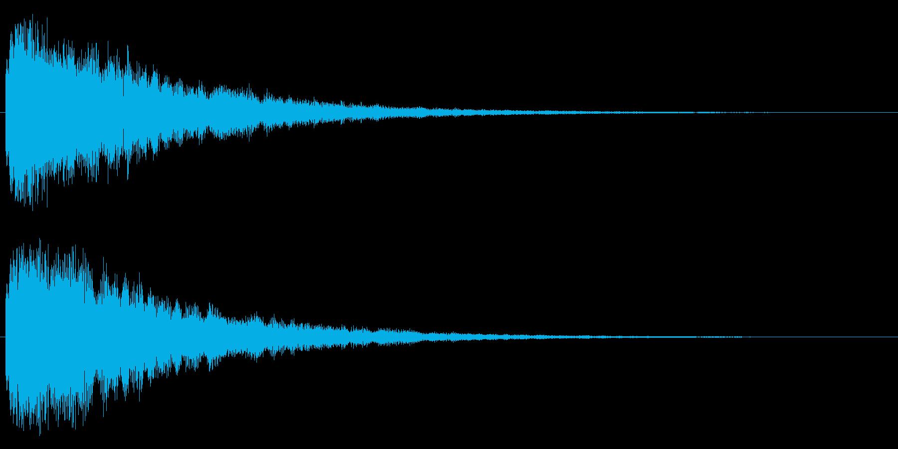 キラリーン(レベルアップやスキルアップ)の再生済みの波形