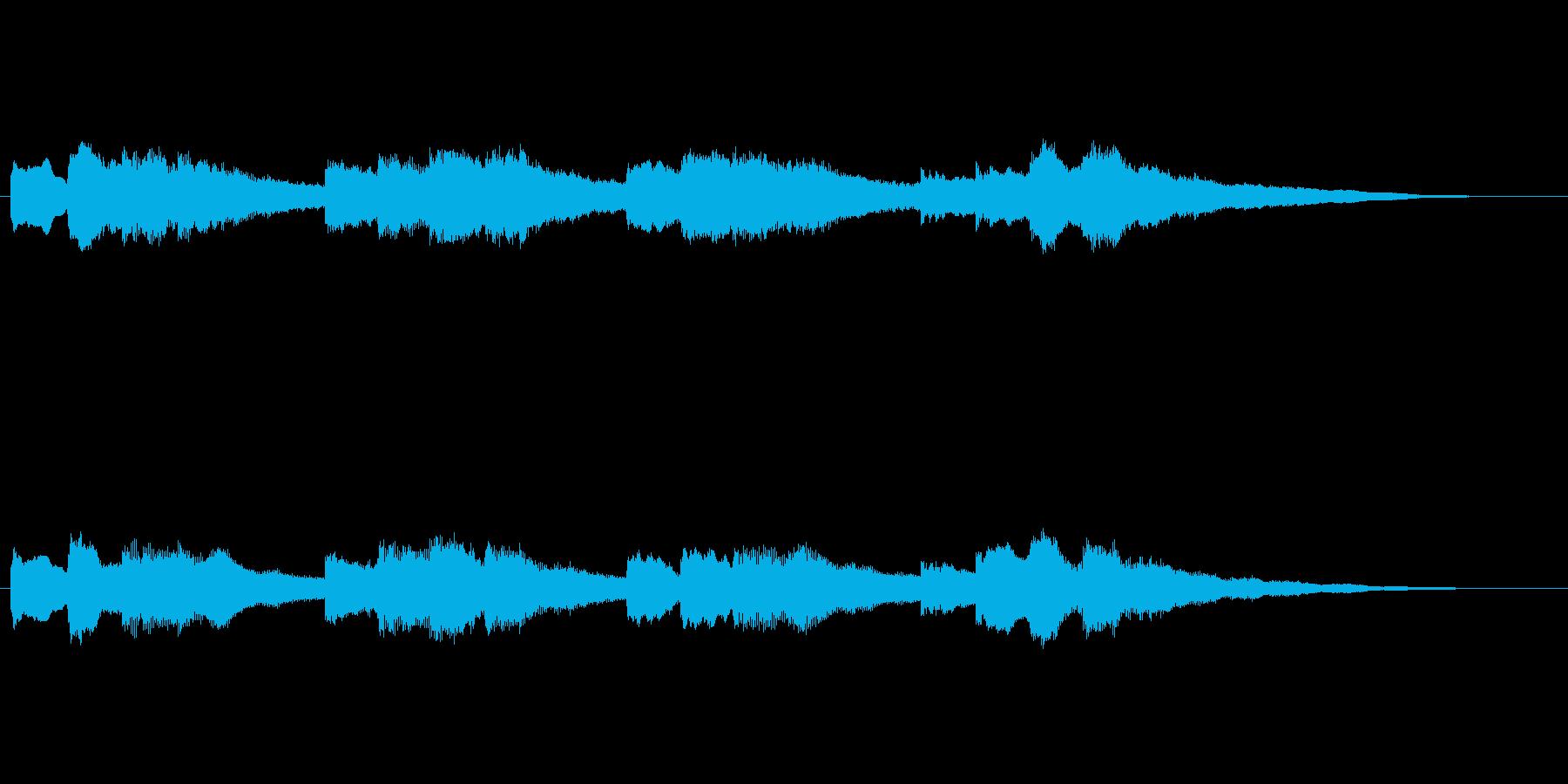 【チャイム 学校02-10】の再生済みの波形