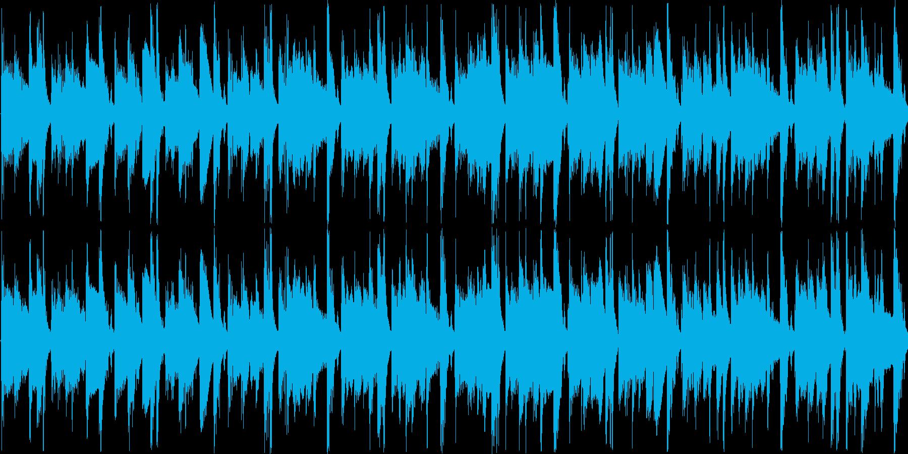 【リゾート/アコースティックギター】の再生済みの波形