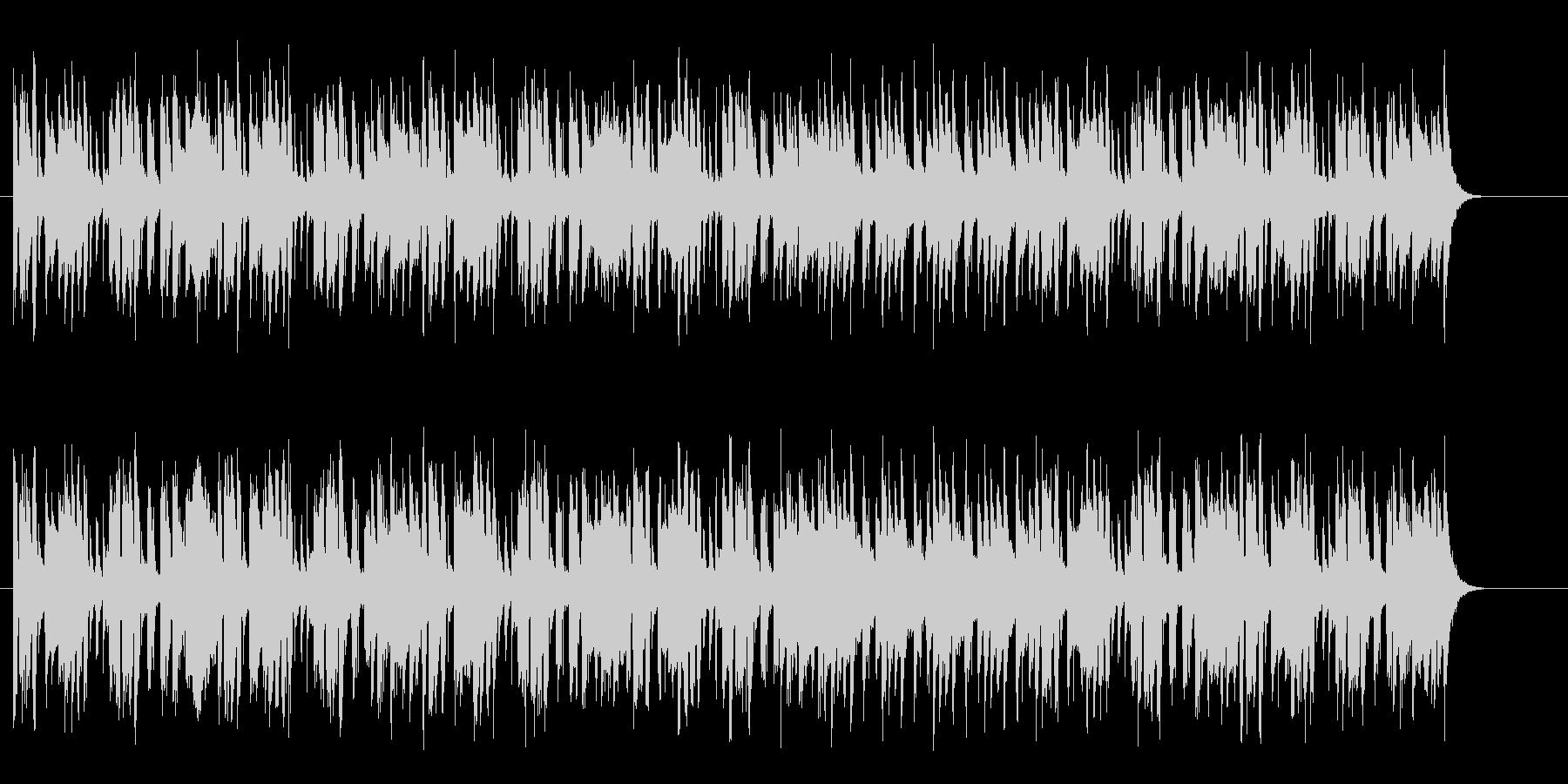 南国カリブのほのぼのミュージックの未再生の波形