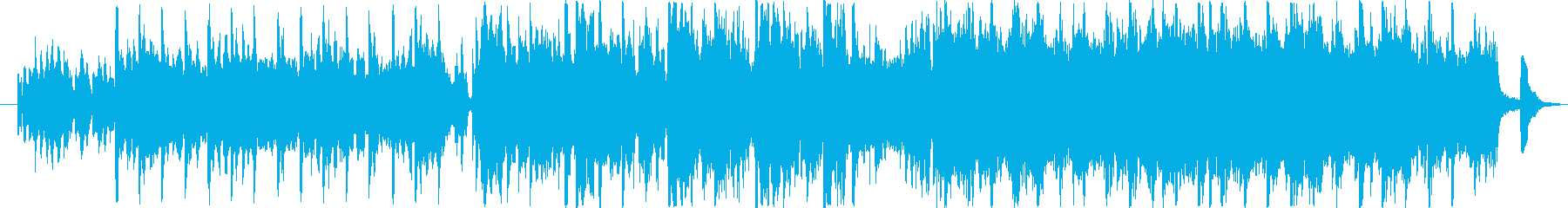 EDM+オーケストラの感動的なOP,EDの再生済みの波形