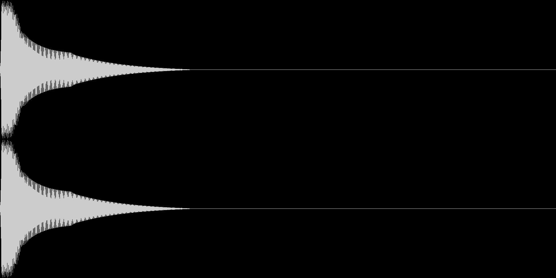 PureTouch アプリ用タッチ音12の未再生の波形