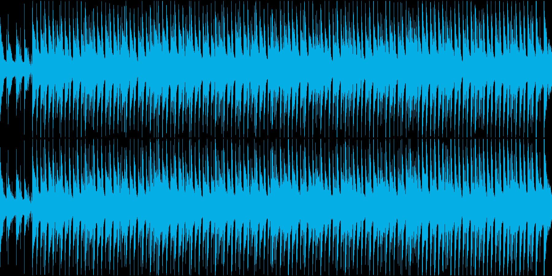 シンプル/明るい/楽しい/ポップ/ループの再生済みの波形