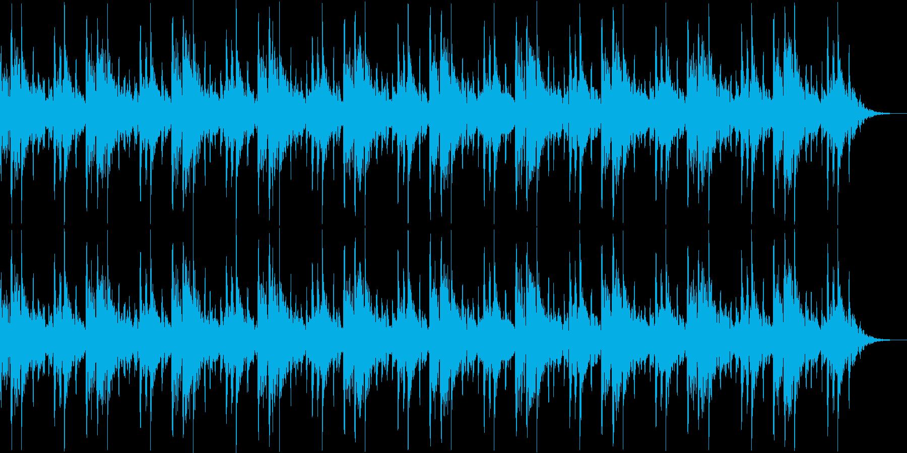緊張感のあるループの再生済みの波形