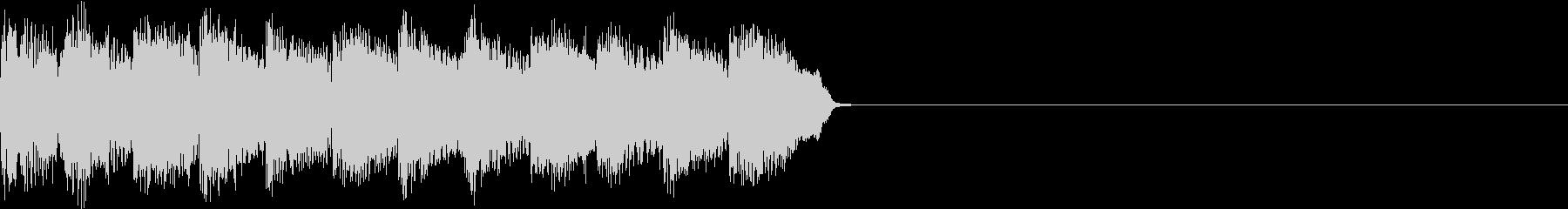 サイレン アラーム ファミコン 告知2の未再生の波形