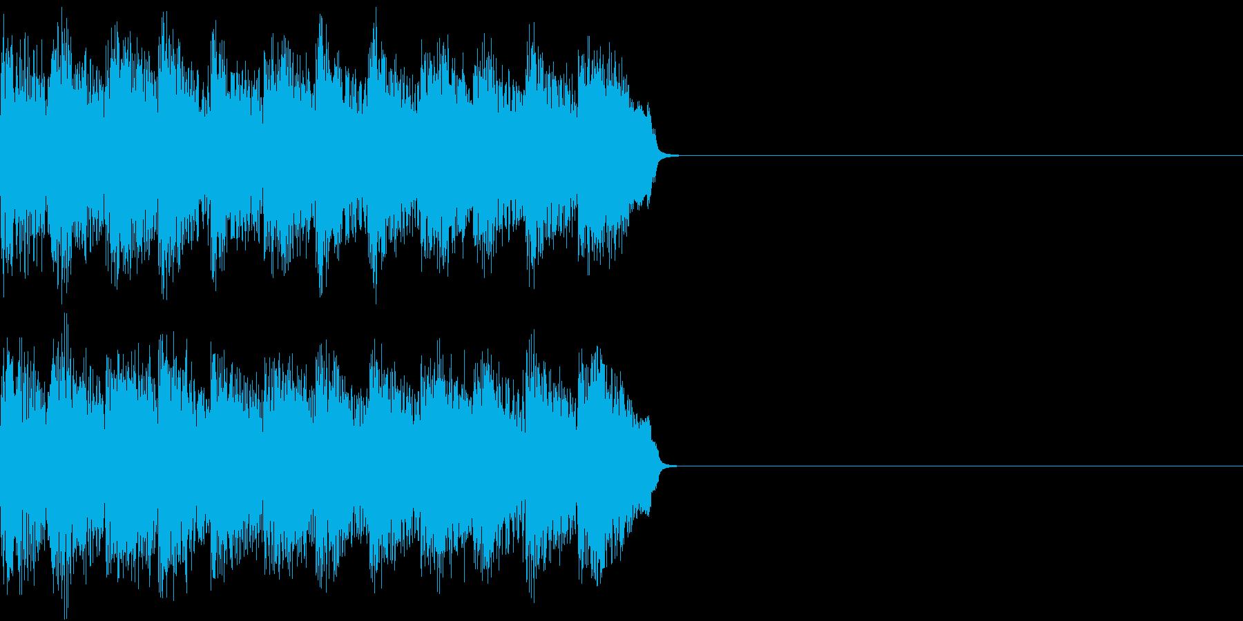 サイレン アラーム ファミコン 告知2の再生済みの波形