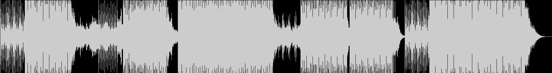 ゆったりMoombahton系EDMの未再生の波形