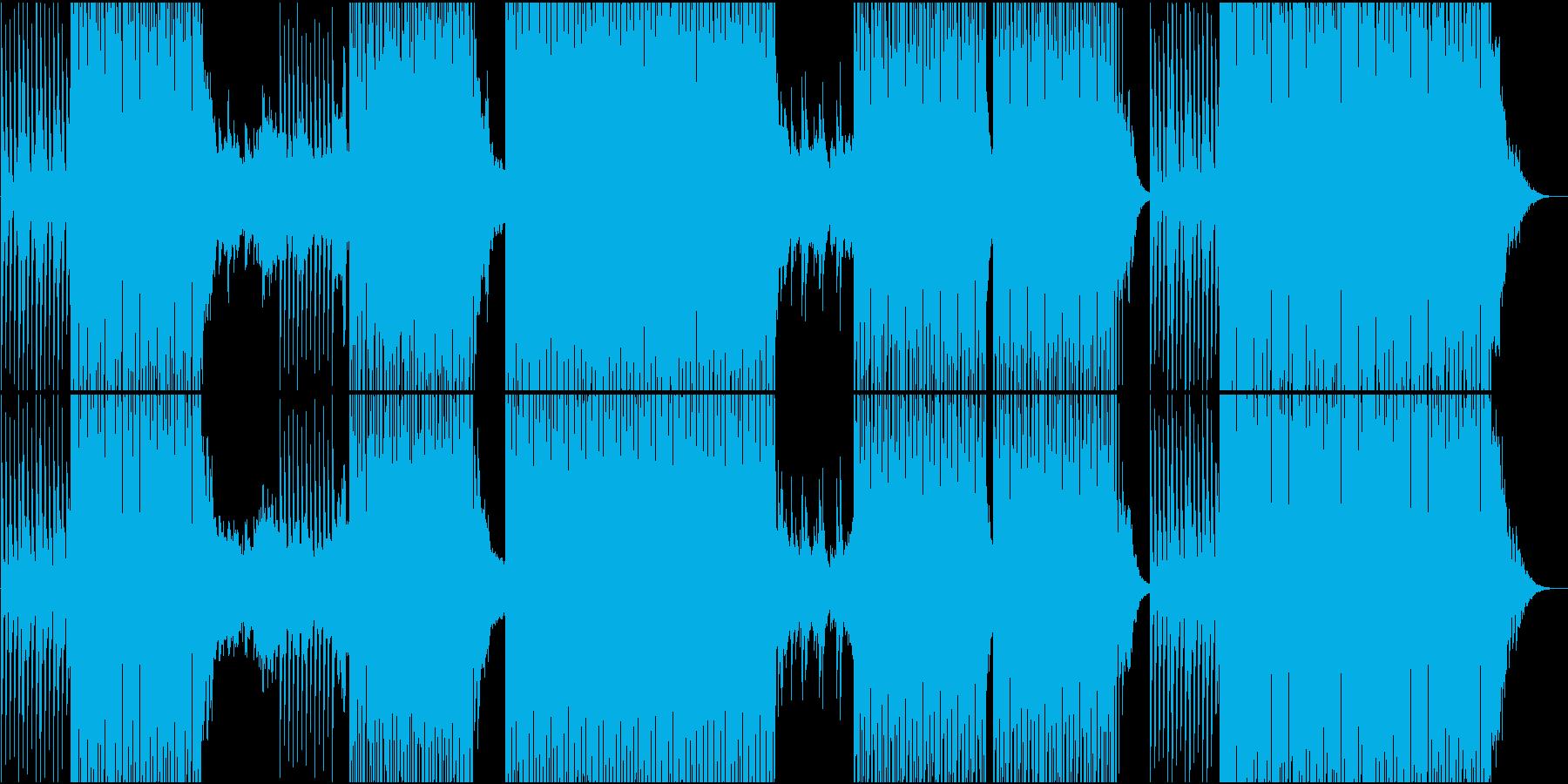 ゆったりMoombahton系EDMの再生済みの波形