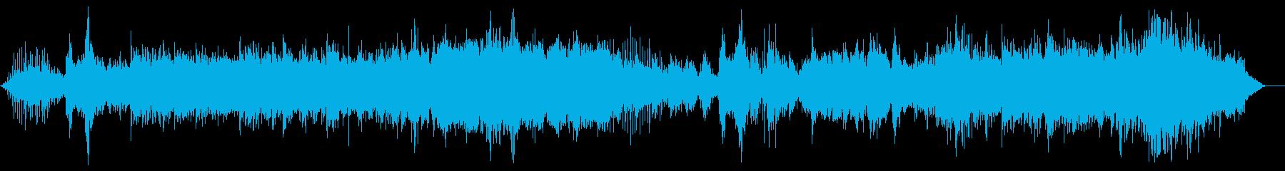 アンビエント風音楽ー梅雨の再生済みの波形