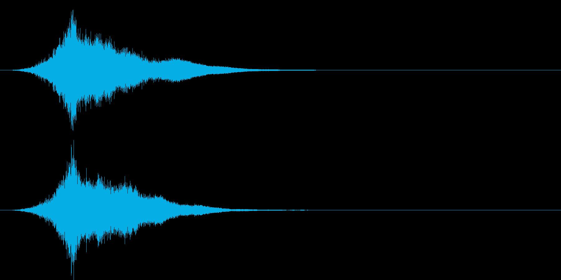 タッチ チャンス(キーン…シャァァァン)の再生済みの波形