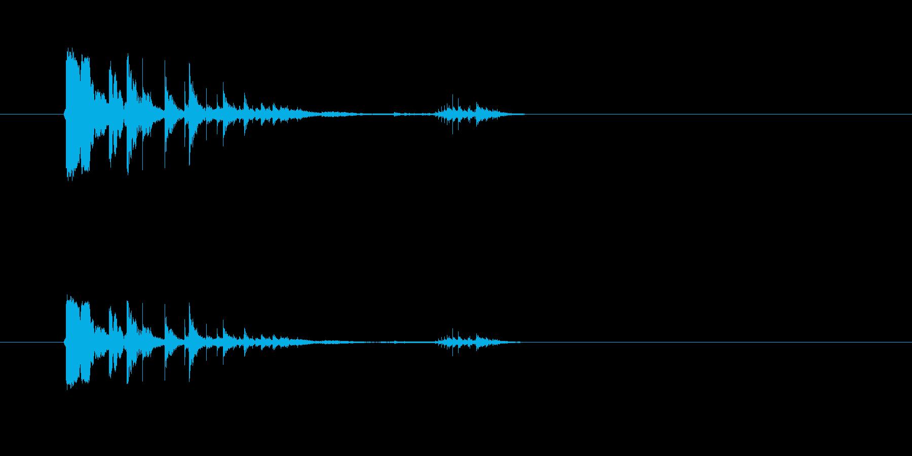 カランカラン空き缶を転がすの再生済みの波形