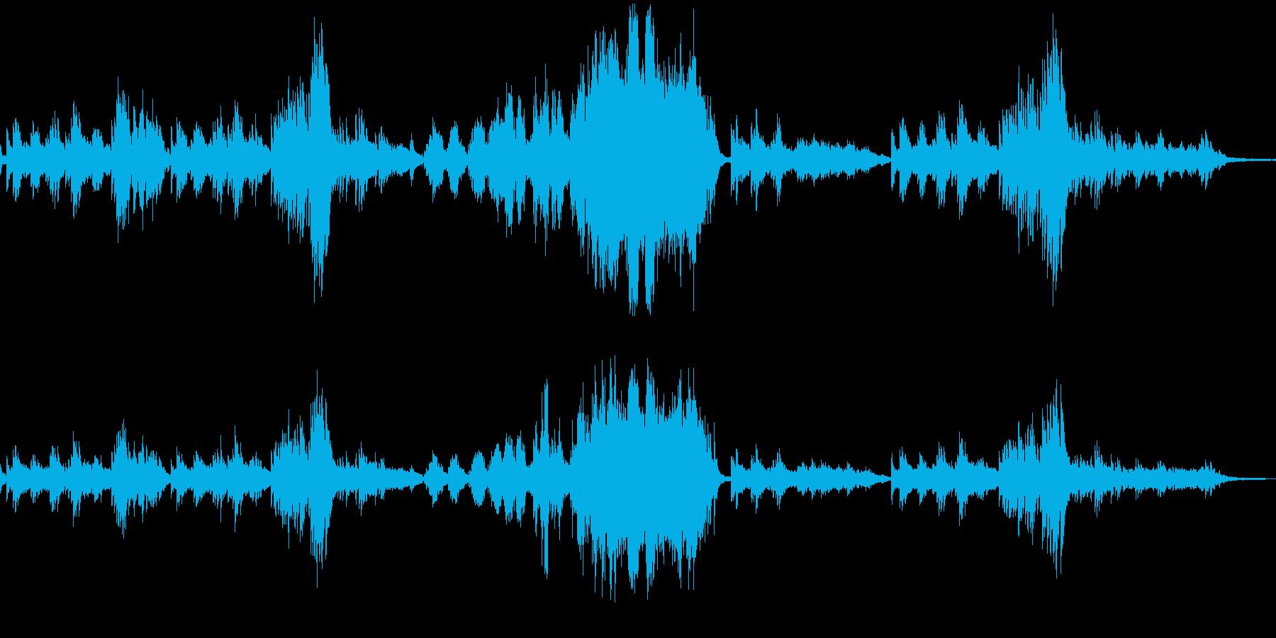 ショパンの練習曲作品10-3 別れの曲の再生済みの波形