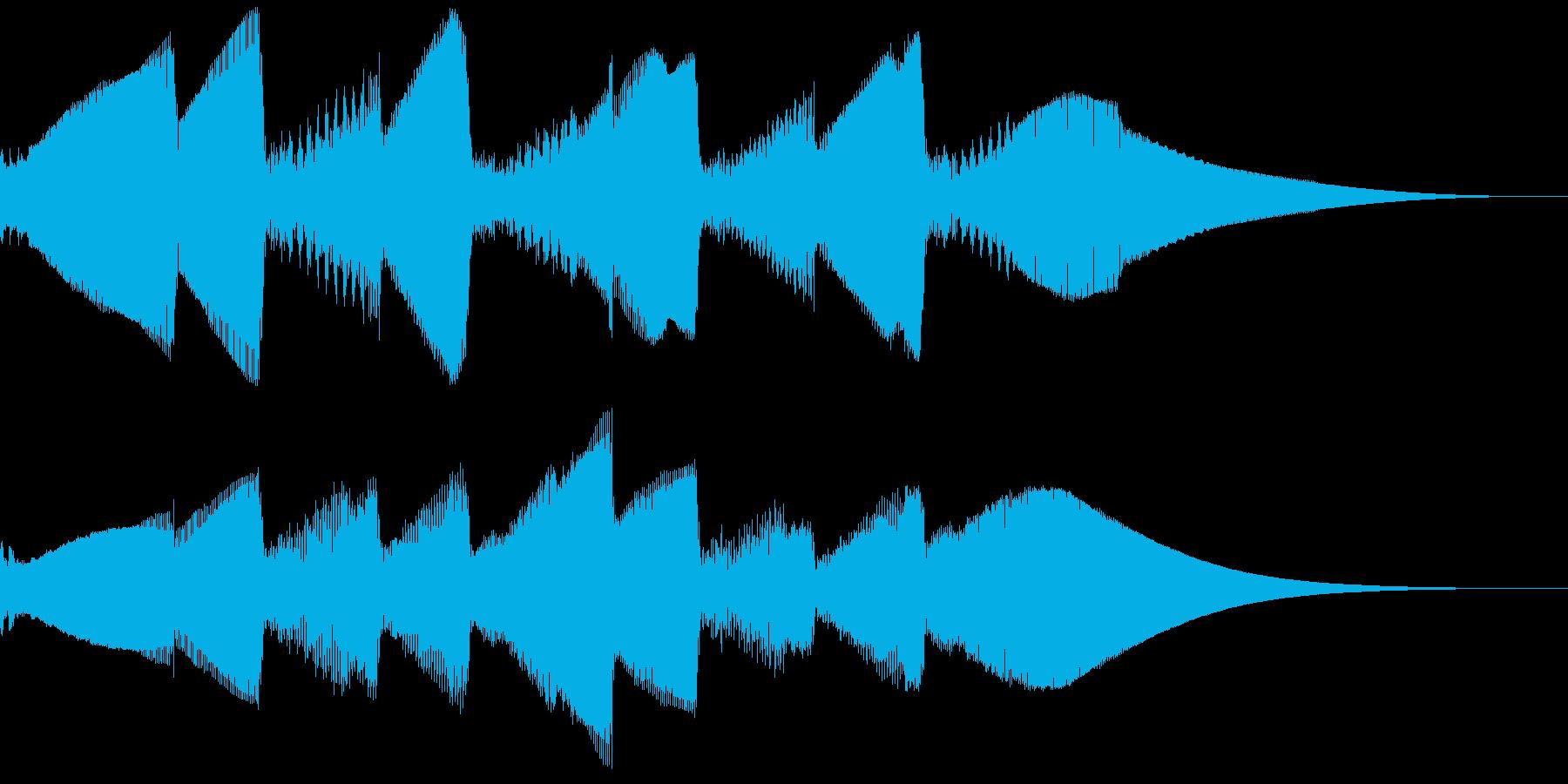 5秒CM用、ほのぼの家族verFの再生済みの波形