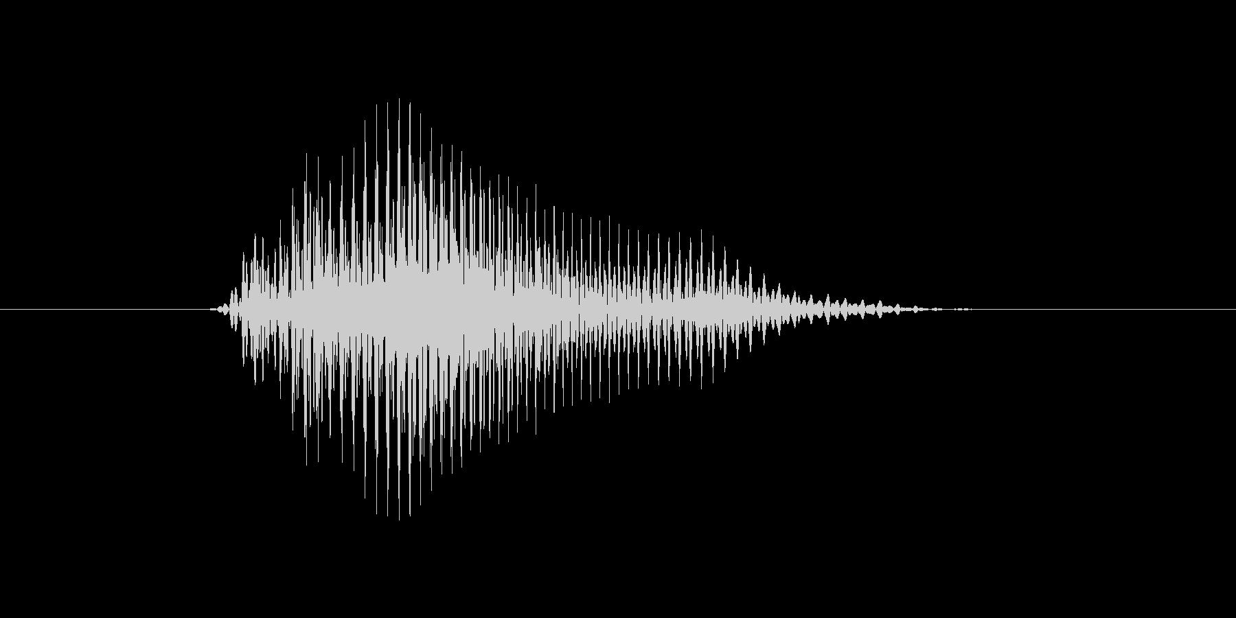 y,Y,Y(ワイ)の未再生の波形