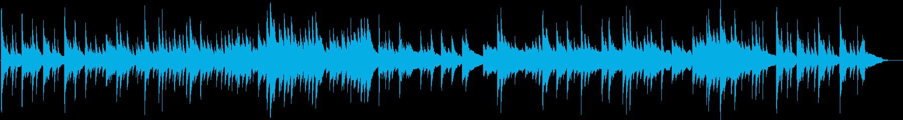 企業VP、映像などに最適なピアノBGM2の再生済みの波形